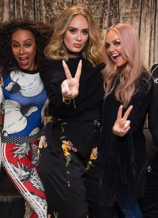 WANNABE HOT: Adele se provodila sa Spice Girls