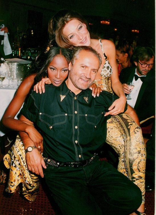 FASHION DIARY: 15 vintage fotografija Giannia Versacea i njegovih omiljenih modela