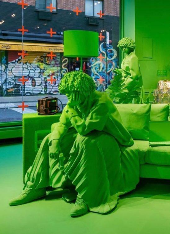 Eksplozija slime zelene: Nova Louis Vuitton pop-up prodavnica izgleda kao nešto u šta (možda) ne bi želela da uđeš