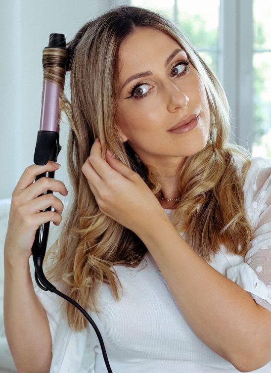 Anastasija Đurić ti otkriva kako da sama stilizuješ kosu kada nemaš vremena za frizera