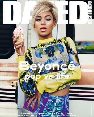 "Beyoncé Knowles za ""Dazed & Confused"" jul 2011."