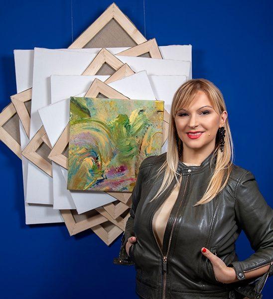 """Gordana Tomić, slikarka: """"Motiv sreće je motiv kretanja, stremljenja i traganja!"""""""