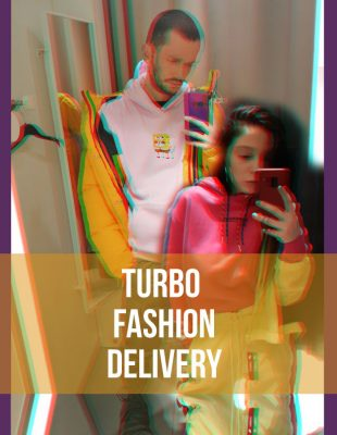 TURBO FASHION DELIVERY: Colorblock