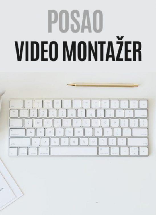 POSAO: Tražimo VIDEO MONTAŽERA – priključi se WANNABE MAGAZINE timu!