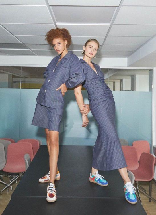 Fuzija kreativne vizije i komercijalne mode – modni brend Ganni predstavio je novu kolekciju