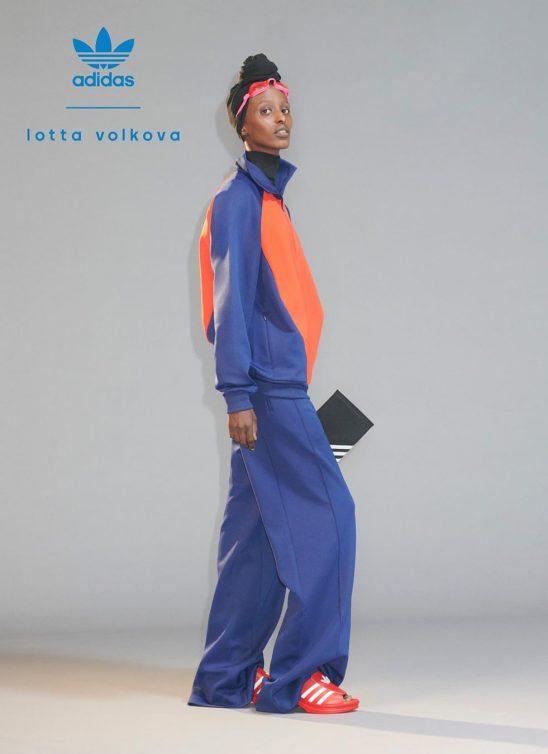 #fashioncollaboration: Lotta Volkova i Adidas