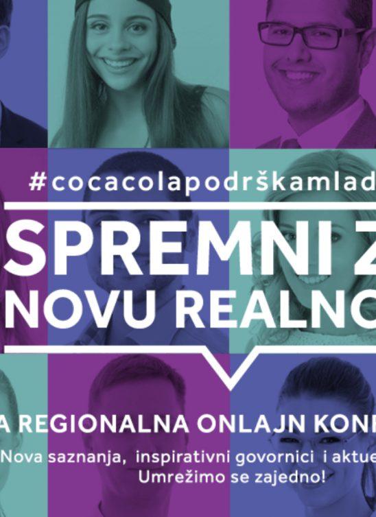 Organizovana prva online regionalna konferencija u okviru programa Coca-Cola podrška mladima