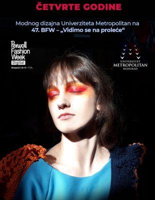 Digitalna revija diplomaca i studenata četvrte godine Modnog dizajna Univerziteta Metropolitan