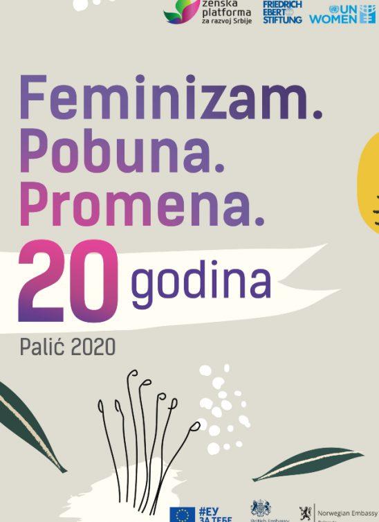 Mural Feminizam.Pobuna.Promena u Beogradu