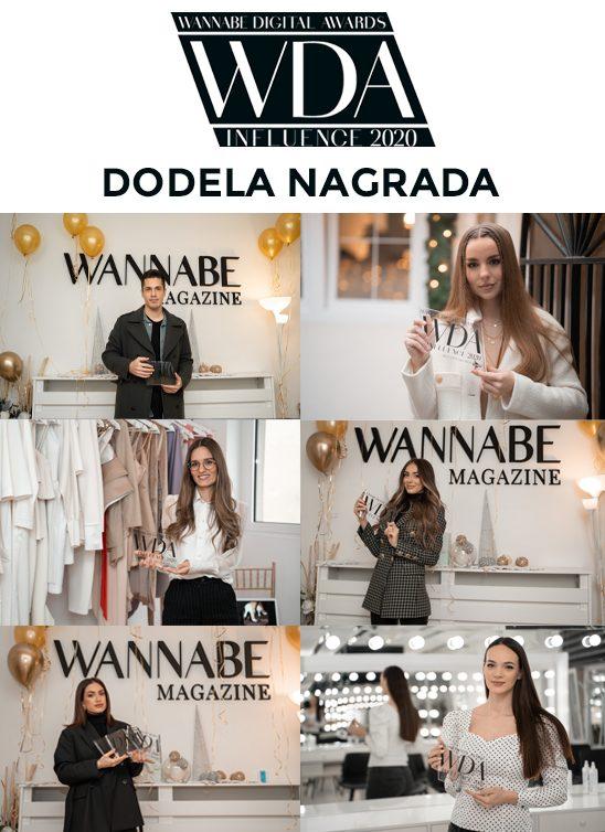 WANNABE Digital Awards: Ovo su najbolji influenseri u 2020. godini!