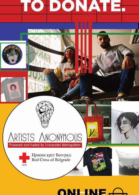 Umetnost i humanost – ARTISTS ANONYMOUS (AA) ONLINE SHOP