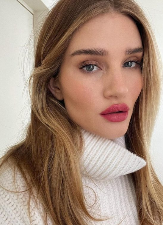 #makeupinspo: Rosie Huntington-Whiteley