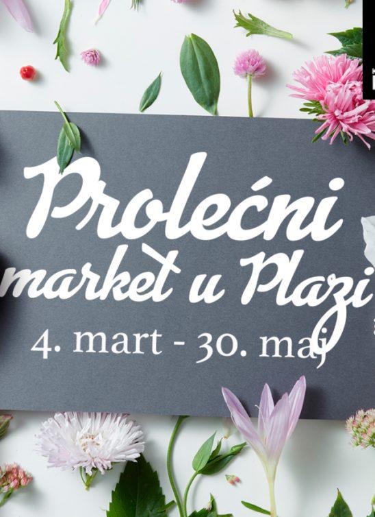 Nagradna igra i druga prolećna iznenađenja u Plazi!