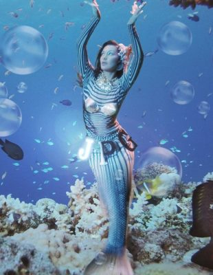 "Bella Hadid u ulozi sirene u novoj kampanji Jeana Paula Gaultiera ""Les Marins"""
