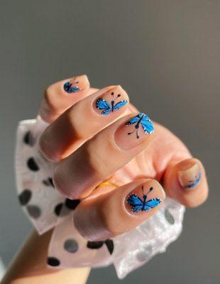 Ukrasni leptiri na noktima su novi trend koji nam jesen donosi – isprobajte ga uz naše predloge!