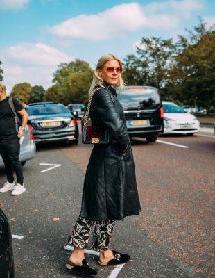 Mantili, jakne i sakoi od kože – još jedan jesenji trend koji nam je donela Londonska nedelja mode