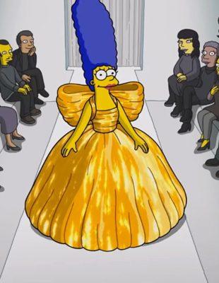 Vreme manekena je prošlo, ove godine Simpsonovi su prošetali pistom na Balenciaga modnoj reviji!