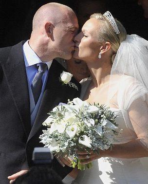 Celebrity Wedding: Zara Phillips & Mike Tindall