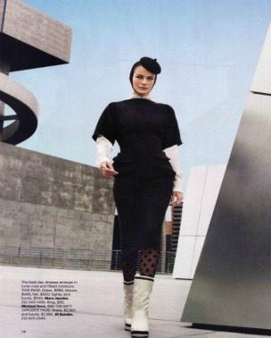 """Carolyn Murphy za """"Harper's Bazaar US"""" – avgust 2011. godine"""