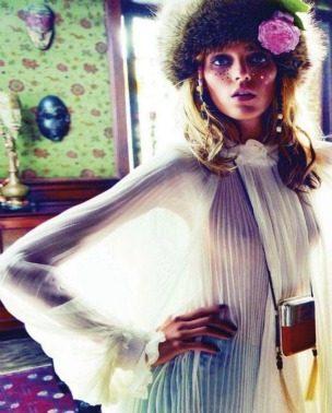 """Anja Rubik za """"Vogue Paris"""" – septembar 2011."""