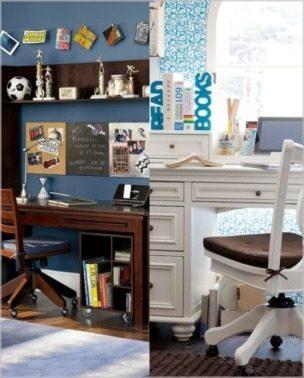 Radne sobe za dečake i devojčice