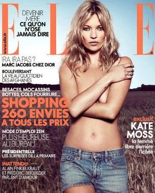 """Kate Moss za oktobarski """"Elle France"""": povratak prirodi"""