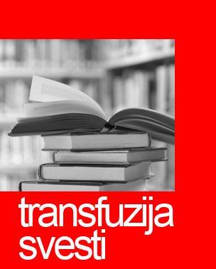 Transfuzija svesti: Knjige
