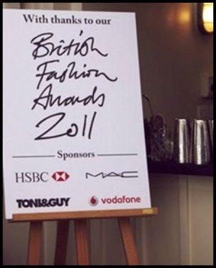 Fashion Police: British Fashion Awards 2011.