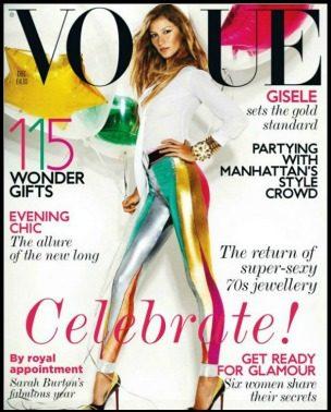 """Praznično: Gisele za """"Vogue UK"""""""