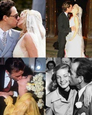 Venčanja poznatih: Najlepši poljupci