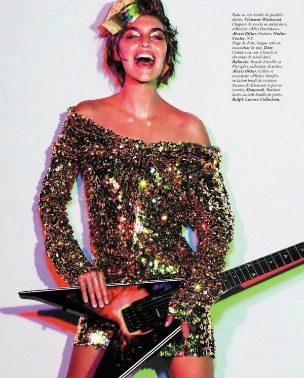 "Glam Rock Star: Arizona Muse za ""Vogue Paris"""